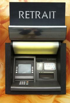 nettoyage automate bancaire