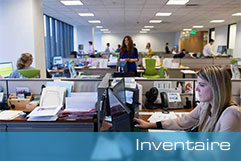 Solutions inventaire, tracking, relevés