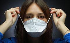 Masque FFP2 bride de nez réglable
