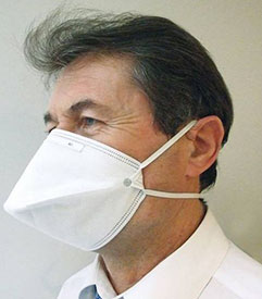 Masque FFP2 normes EN 149, EN 14 683 et ISO 9001