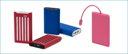 Batteries externes pour smartphones